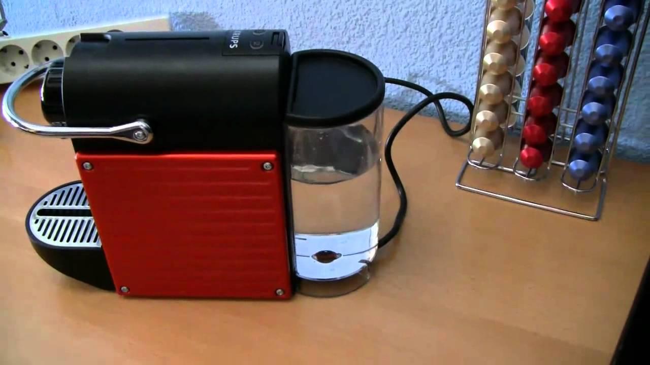 Krups Coffee Maker Km740d50 Reviews : Krups Nespresso Pixie Review Coffee Machine Reviews
